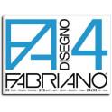 Fabriano4 Blocco Ruvido 33X48 200gr - 20 fogli