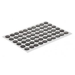 Dischi magnetici autoadesivi 12 mm - 100pz