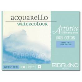 Blocco Artistico Traditional White 200gr grana fina 30,5X45,5