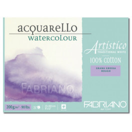 Blocco Artistico Traditional White 200gr grana grossa 30,5X45,5