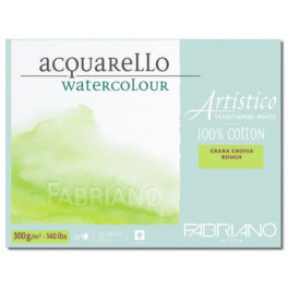Blocco Artistico Traditional White 300gr grana grossa 30,5X45,5