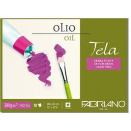 Blocco Tela Olio 42X56 300gr - 10 fogli