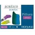 Blocco Pittura Acrilico 25X35 400gr - 10 fogli