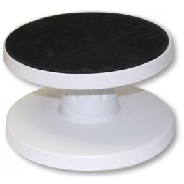 Base in plastica porta torte reclinabile diam cm 23