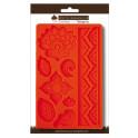 Calco in silicone decoro etnico cm 12,5x20