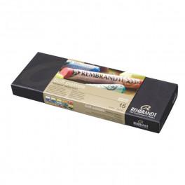Talens Rembrandt scatola cartone 15 pastelli morbidi