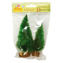 Conf. 2 pini verdi con base 2 misure