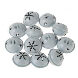 Sonagli di metallo 34 mm bianchi