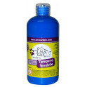 Tempera lavabile 500ml - blu