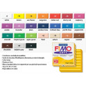 FIMO Soft 24 - 57gr. Rosso Indiano