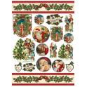 Decoupage 50x70 Babbo Natale
