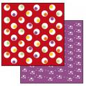 Foglio Double face cm 31,2x30,3 - cerchi