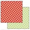 Foglio Double face cm 31,2x30,3 - quadretti