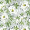 Feltro Decor cm. 30x30/mm 1 - fiori bian