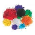 Glitter-Pompons - Misure varie
