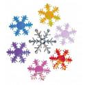 Miniatura di feltro - Fiocco di neve