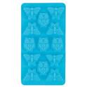 Stampo in silicone 2 motivi - Gufo, farfalla