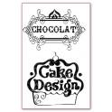 Timbro acrilico cm. 7x11 Cake ciesign