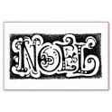 Timbro acrilico cm. 7x11 Noel