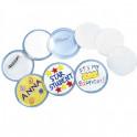 Spilla in plastica personalizzabile