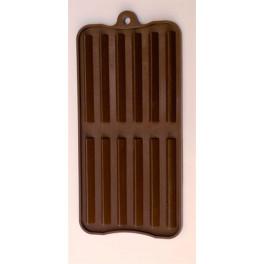 Stampo cioccolatini 12 barrette verticali