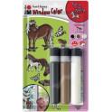 Set Window Color Fun & Fancy Marabu 3x25 ml - Pony World