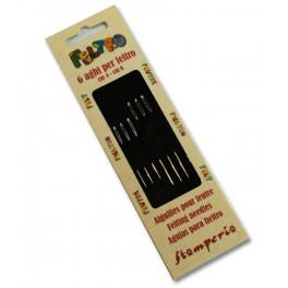 Set 6 aghi lunghezza cm. 6