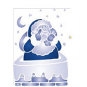 Stencil A4 - 602 - Babbo Natale