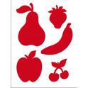 Stencil D cm.20x15 frutta