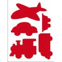 Stencil D cm.20x15 trasporti