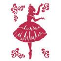 Stencil G cm. 21x29,7 Ballerina