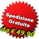 Spedizione gratuita da €49,90